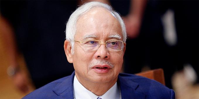 Najib Razak tại Kuala Lumpur năm 2015. Ảnh: Berita Daily.