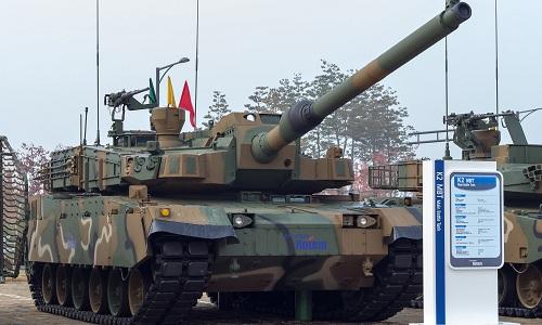 Xe tăng K2 Black Panther của Hàn Quốc. Ảnh: Sputnik.