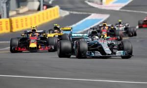 Hamilton về nhất tại GP Pháp
