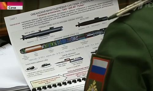 Tài liệu về dự án Status 6 mà truyền hình Nga để rò rỉhồi tháng 11/2015. Ảnh:RT