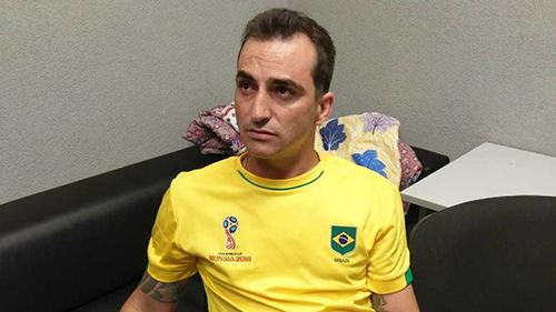 Nga bắt tên cướp Brazil bị truy nã tại World Cup