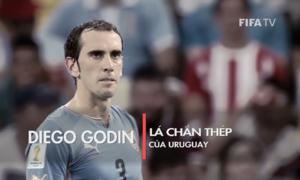 Diego Godin lá chắn thép của Uruguay