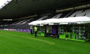 Công nghệ sân cỏ lần đầu được áp dụng tại World Cup 2018
