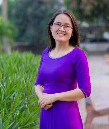 Cô Trần Thị Kim Oanh. Ảnh: NVCC.
