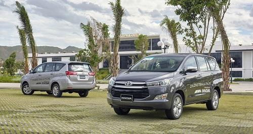 Toyota Innova chiếm phần lớn lượng taxi 7 chỗ tại Việt Nam.