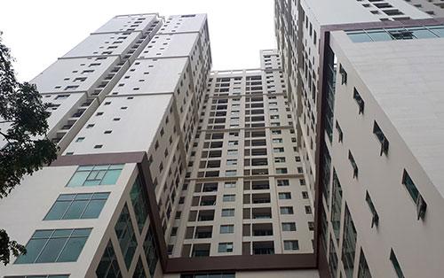 Khu tổ hợp chung cư, văn phòng cho thuê ở 493 Trương Định. Ảnh: Phương Sơn