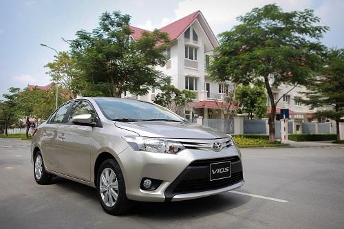 Toyota Vios được nhiều doanh nghiệp tãi tại Việt Nam lựa chọn.