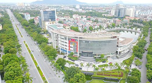 Một góc thành phố Thanh Hoá. Ảnh: Lê Hoàng.