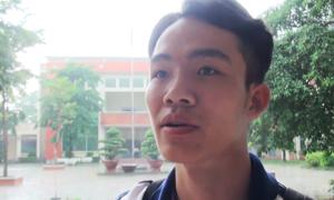 Nhiều thí sinh lo lắng trước môn thi Ngoại ngữ