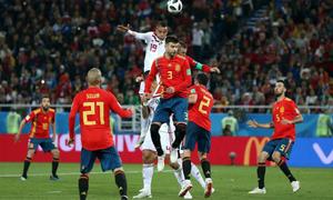 Tây Ban Nha 2-2 Morocco