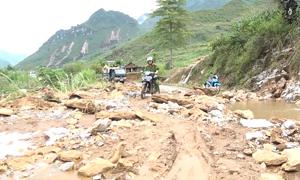Tan hoang vùng rốn lũ Hà Giang