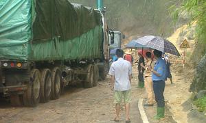 Thông xe quốc lộ 4D từ Lào Cai sang Lai Châu