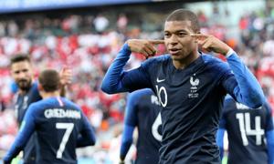Pháp 0-0 Đan Mạch