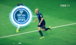 Công nghệ theo dõi cầu thủ trên sân bóng ở World Cup 2018