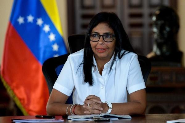 Phó Tổng thống Venezuela Delcy Rodriguez. Ảnh: AFP.