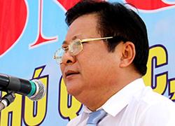 Ông Đinh Khoa Toàn sẽ được thôi giữ chức vụ Chủ tịch huyện Phú Quốc sắp tới. Ảnh: Phúc Hưng.