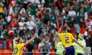 Mexico 0-3 Thụy Điển