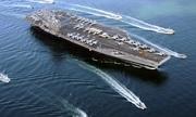Mỹ điều siêu tàu sân bay thứ ba tuần tra Biển Đông