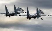 Su-30 Nga diễn tập không chiến ở độ cao 17 km