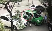 Công an điều tra vụ lái xe taxi bị đánh khi to tiếng với tài xế đi phía trước