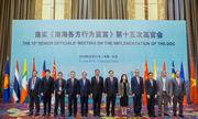 Việt Nam nêu lo ngại về thiết bị quân sự ở Biển Đông khi họp với Trung Quốc