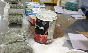 Đơn hàng bánh kẹo từ Mỹ về Sài Gòn có hơn 13 kg cần sa