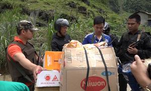 Tiếp tục vây ráp đàn em của hai trùm ma túy ở Lóng Luông