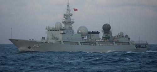 Một chiếc Type-815 hoạt động trên Thái Bình Dương năm 2016. Ảnh: Sina.