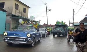 Người Cuba cổ vũ cuồng nhiệt cho Brazil thi đấu World Cup