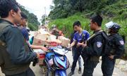 Cảnh sát kiểm tra gắt gao đường vào 'thung lũng ma túy' Tà Dê