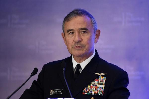 Ông Harry Harris sắp giữ chức đại sứ Mỹ tại Hàn Quốc.
