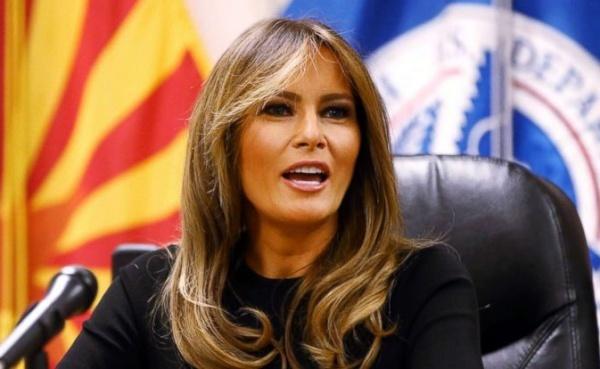 Đệ nhất phu nhân Mỹ tại Tucson, Arizona. Ảnh: Reuters.