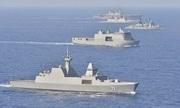 52 chiến hạm mở màn cuộc tập trận hải quân lớn nhất thế giới