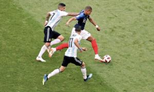 Pháp 4-3 Argentina