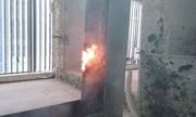 Cháy tại ba tầng của toà nhà đang xây ở Hà Nội