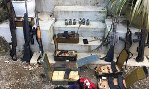 Kho vũ khí của trùm ma túy tại Lóng Luông