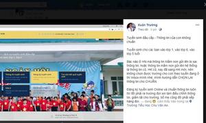 Hà Nội cảnh báo giả mạo tuyển sinh trực tuyến lớp 1