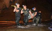 Đội đặc nhiệm SEAL Thái Lan trong chiến dịch tìm kiếm đội bóng nhí mắc kẹt