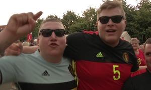 CĐV Bỉ tin đội nhà sẽ đánh bại Brazil ở tứ kết