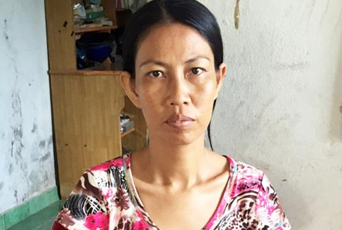 Chị Hứa Cẩm Tú - người bị cắt nhầm hai quả thận hồi năm 2011. Ảnh: An Bình