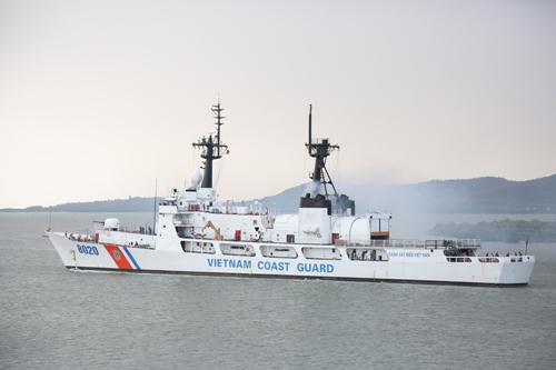 Tàu CBS 8020 của Cảnh sát biển Việt Nam. Ảnh: CBS