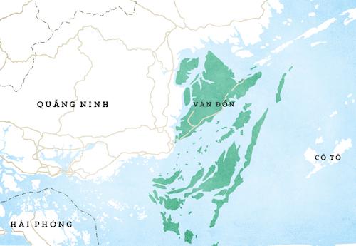 Việt Nam dự kiến xây dựng đặc khu kinh tế ởVân Đồn (Quảng Ninh), Bắc Vân Phong (Khánh Hoà), Phú Quốc (Kiên Giang).