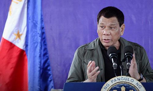 Tổng thống Philippines Rodrigo Duterte. Ảnh: CNN.