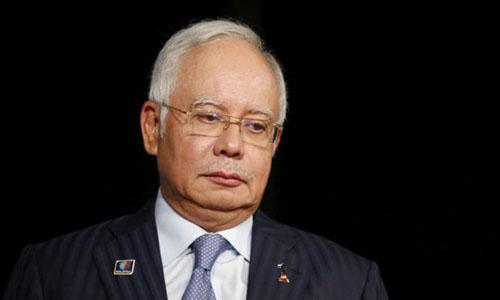 Cựu thủ tướng Malaysia Najib Rajak. Ảnh: Reuters.