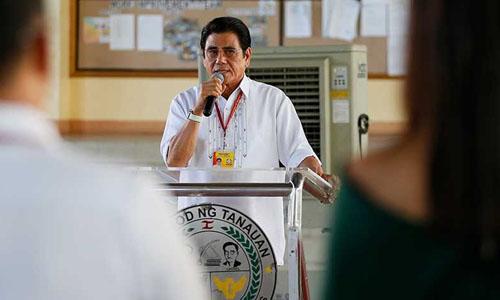 Thị trưởng Tanauan, tỉnh BatangasAntonio Halili. Ảnh: AP.