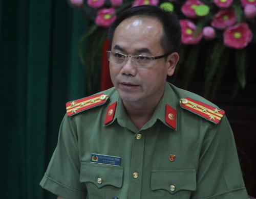 Đại tá Nguyễn Thanh Tùng, Phó giám đốc công an TP Hà Nội. Ảnh: Võ Hải.