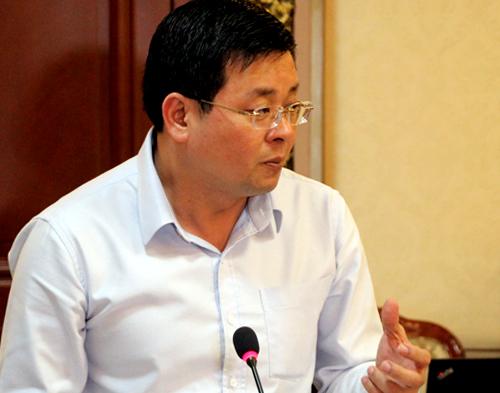 Giám đốc Sở Tài nguyên Môi trường nói về mùi hôi từ bãi rác Đa Phước. Ảnh: Duy Trần.