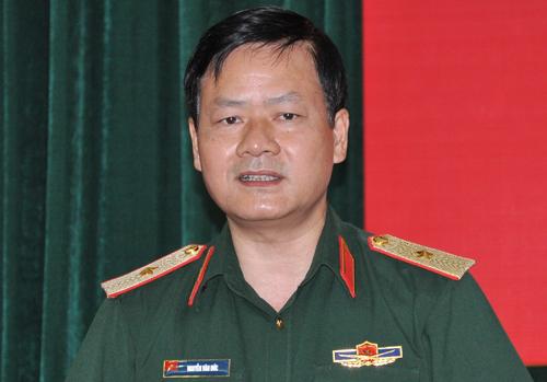 Thiếu tướng Nguyễn Văn Đức. Ảnh: Viết Tuân