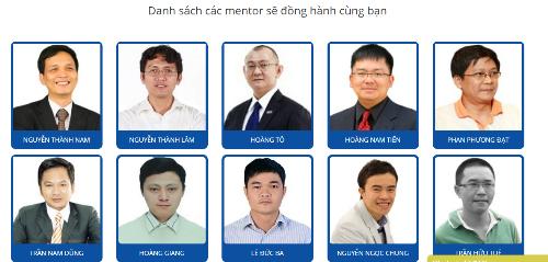 Danh sách các mentor FUNiX.