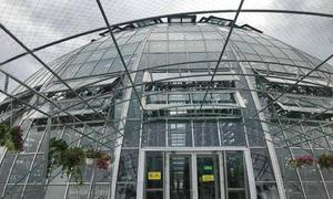 Nhà kính trồng rau công nghệ cao hình quả cầu tại Hội An